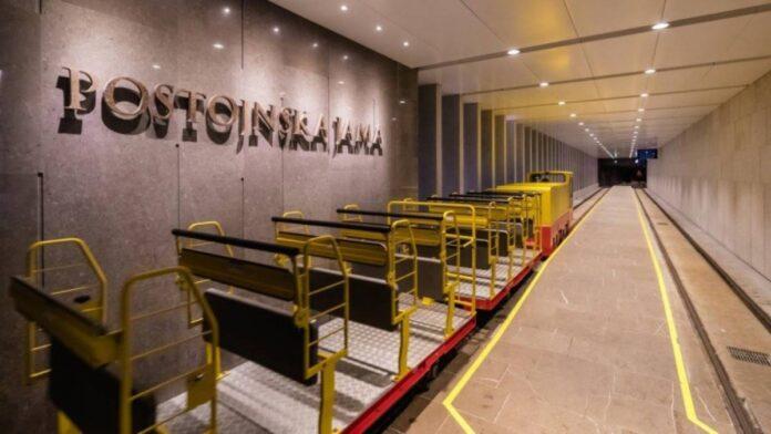 Novi vlakci v Postojnski jami